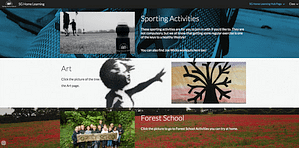 SG Home online learning website